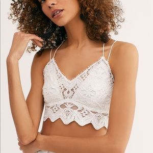Free People One Ilektra Bralette White Small